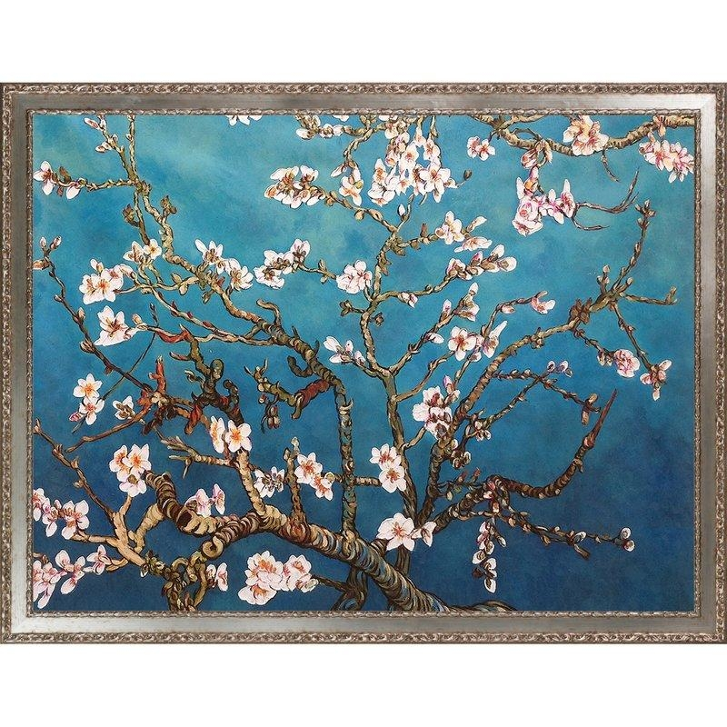 Darby Home Co 'branches Of An Almond Tree In Blossom'vincent Regarding Almond Blossoms Vincent Van Gogh Wall Art (View 11 of 20)