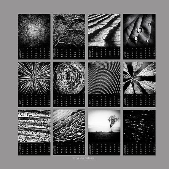 Desk Calendar 2018 Abstract Nature Calendar Mini 5X7 Calendar Inside Abstract Calendar Art Wall (View 17 of 20)