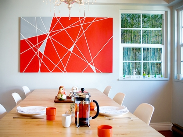 Diy Abstract Canvas | Honeysuckle Life Within Diy Modern Abstract Wall Art (View 8 of 15)