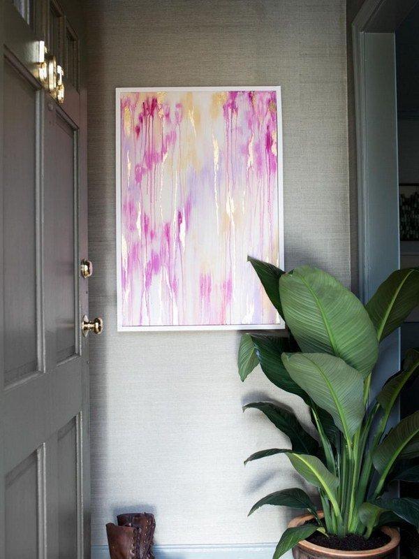 Diy Beautiful Abstract Wall Art | Diy Wall Art | Pinterest For Diy Abstract Wall Art (Image 10 of 20)