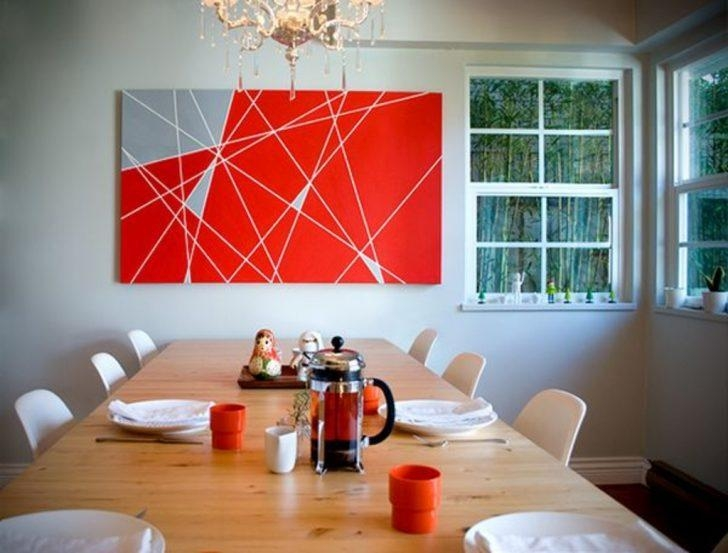 Diy Projects: Abstract Diy Wall Art – 50 Beautiful Diy Wall Art Inside Diy Abstract Wall Art (Image 12 of 20)
