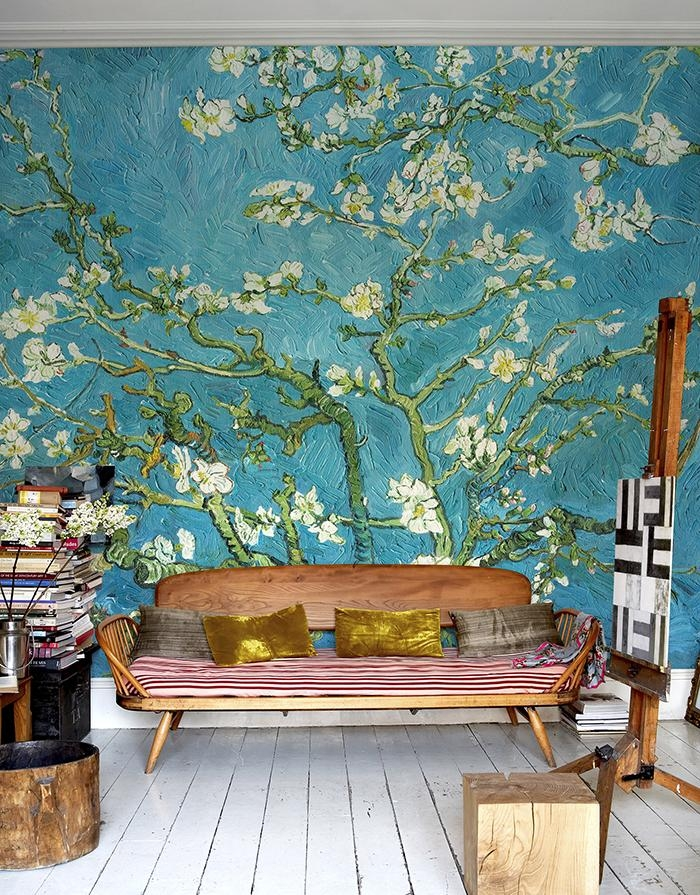 ☆Must Have This Wall Treatment Somewhere In The New House In Almond Blossoms Vincent Van Gogh Wall Art (Image 1 of 20)