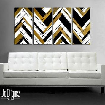 Enchanting 25 Black And Gold Wall Art Decorating Design Of 49 With Black And Gold Abstract Wall Art (Image 9 of 20)