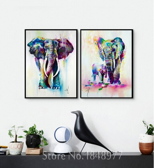 Enchanting 25+ Elephant Wall Art Design Ideas Of Best 25+ Elephant throughout Abstract Elephant Wall Art