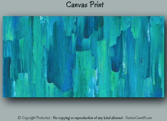 Extra Large Canvas Abstract Wall Art | Slisports Within Blue Canvas Abstract Wall Art (Image 6 of 20)