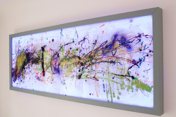 Extra Large Wall Art,abstract Glass Art,modern Glass Painting Pertaining To Glass Abstract Wall Art (Image 8 of 15)