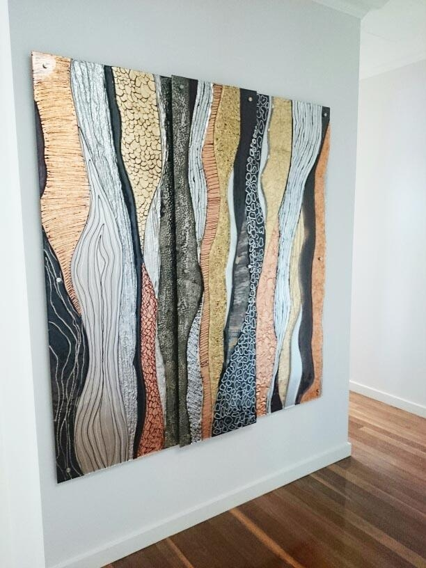 Glass Art Gallery Gold Coast, Australia | Glass Xpressions Intended For Australian Abstract Wall Art (Photo 1 of 20)