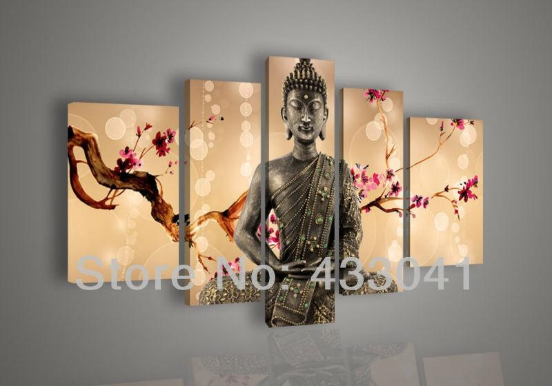 Featured Photo of Abstract Buddha Wall Art