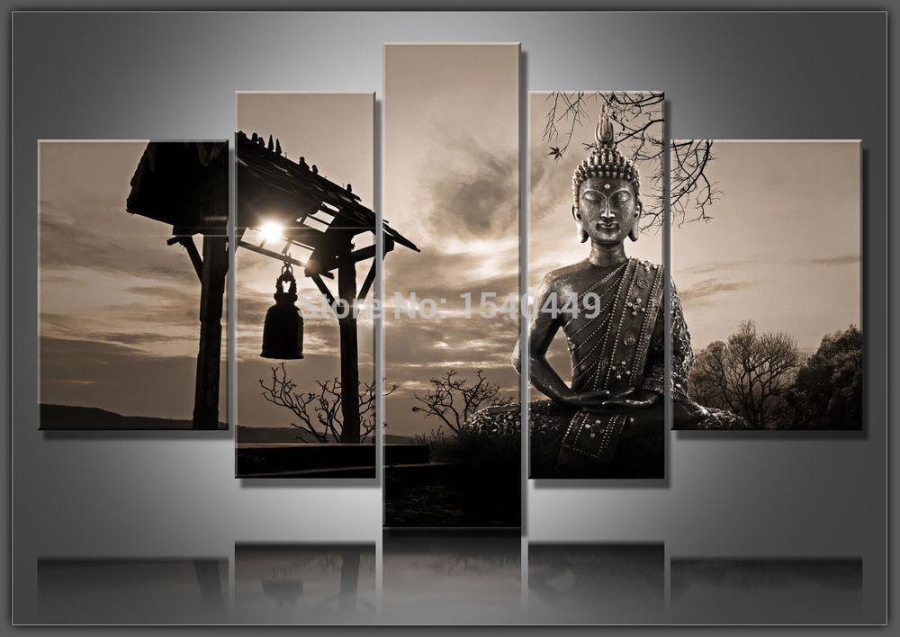 Wall Art Ideas: Abstract Buddha Wall Art (Explore #14 of 20 Photos)