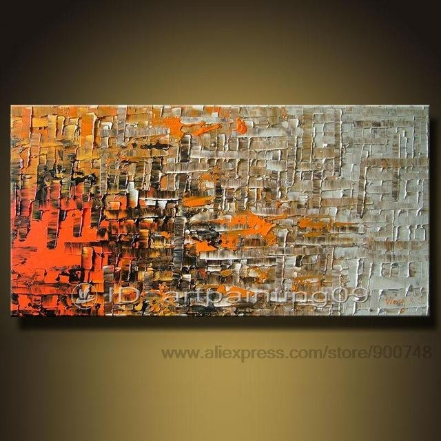 Home Decor Canvas Art Cheap Abstract Wall Decor Bedroom Wall With Affordable Abstract Wall Art (Image 8 of 20)