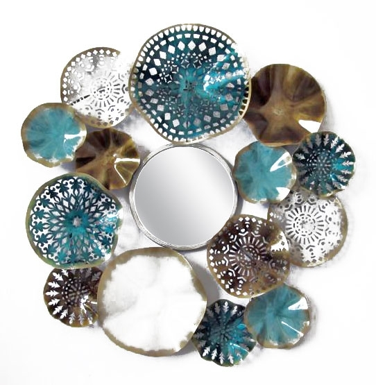 Home :: Metal Wall Art :: Fish, Beach & Ocean :: Beach Round Coral Regarding Abstract Metal Fish Wall Art (Image 8 of 15)