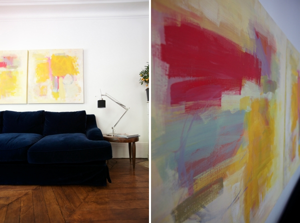 How To Make Abstract Art Diy Pertaining To Diy Modern Abstract Wall Art (Image 9 of 15)