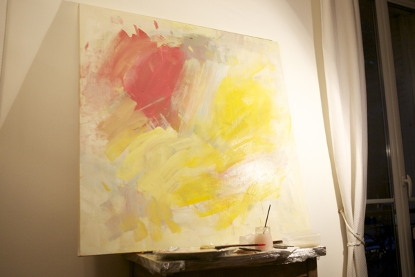 How To Make Abstract Art Diy With Diy Modern Abstract Wall Art (Image 10 of 15)