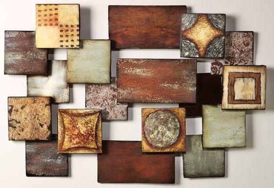 Impressive 15 Modern And Contemporary Abstract Metal Wall Art Pertaining To Contemporary Abstract Wall Art (Image 9 of 20)