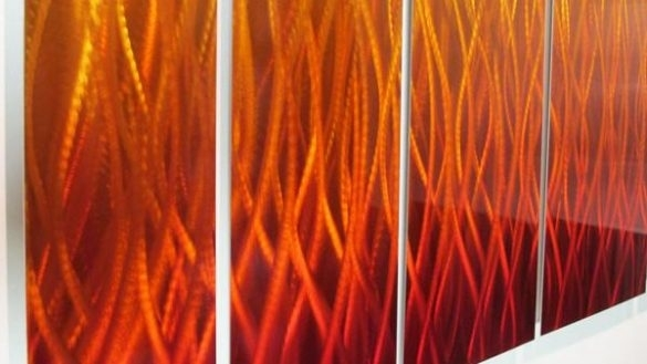 Innovation Design Abstract Wall Art Also Inferno 68 X24 Large Within Southern Enterprises Abstract Wall Art (View 10 of 15)