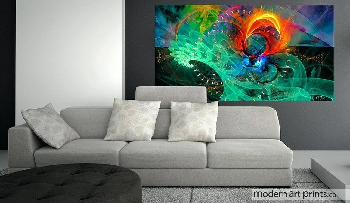 Interior Design Styles Bedroom Best Abstract Wall Art Ideas On With Regard To Abstract Wall Art For Bedroom (Image 12 of 20)