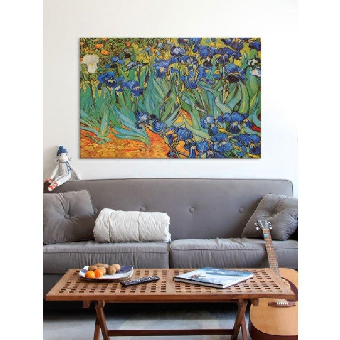 Irises'vincent Van Gogh Print & Reviews | Joss & Main Intended For Vincent Van Gogh Multi Piece Wall Art (Image 9 of 20)