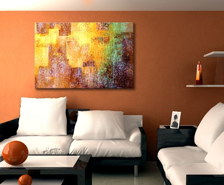 """Kingdom Within"""" Abstract Art On Canvasjaison Cianelli   Art In Regarding Diy Modern Abstract Wall Art (Image 11 of 15)"""