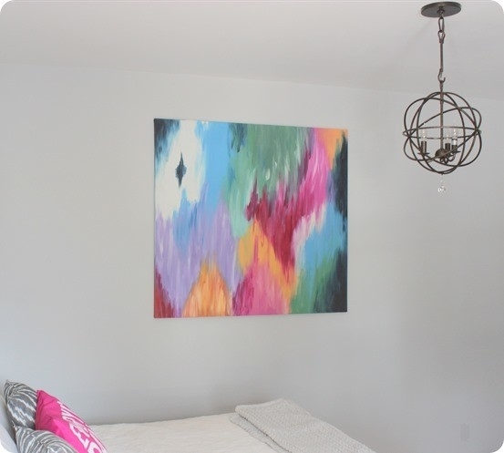 Large Abstract Art Canvas (That Doesn't Break The Bank!) Throughout Diy Abstract Canvas Wall Art (Image 13 of 15)