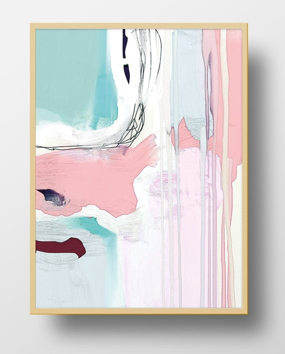 Large Abstract Art Printable Abstract Wall Art 11X14 Print In Printable Abstract Wall Art (View 4 of 15)