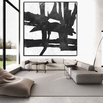 Large Abstract Painting, Abstract From Artcanvasshop On Etsy In Extra Large Abstract Wall Art (Image 10 of 15)