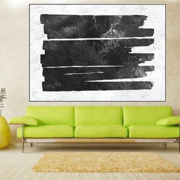 Large Abstract Wall Art Canvas, Original Painting, Extra Large Inside Extra Large Canvas Abstract Wall Art (Image 8 of 15)