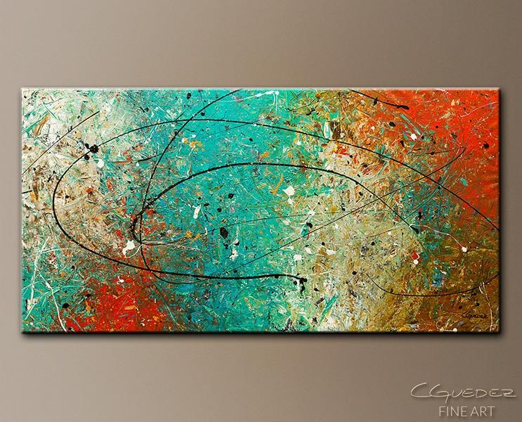 Featured Photo of Large Abstract Wall Art
