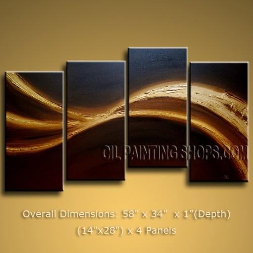 Large Framed Textured Abstract Canvas Wall Art Modern Oil Painting For Abstract Wall Art Canvas (Image 14 of 20)