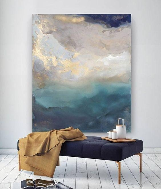 Large Wall Art Ideas | Homedecorshop With Regard To Diy Abstract Wall Art (Image 18 of 20)