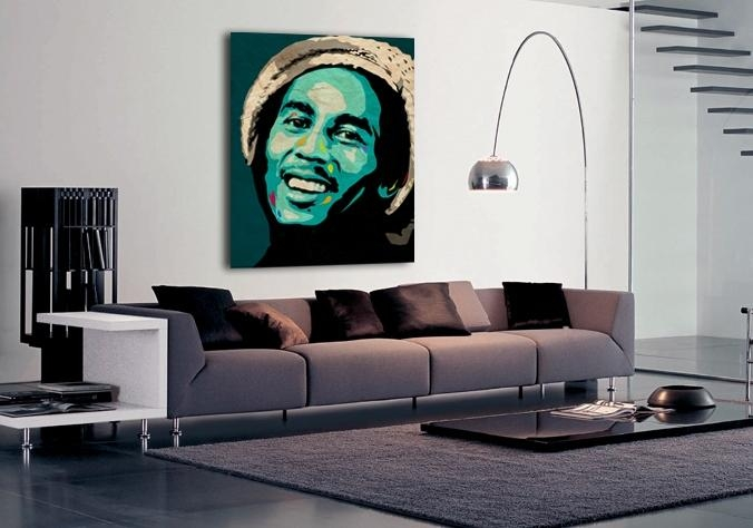 Limited Edition Bob Marley Canvas Print Form Ciaran Monaghan Art With Regard To Limited Edition Wall Art (View 9 of 20)