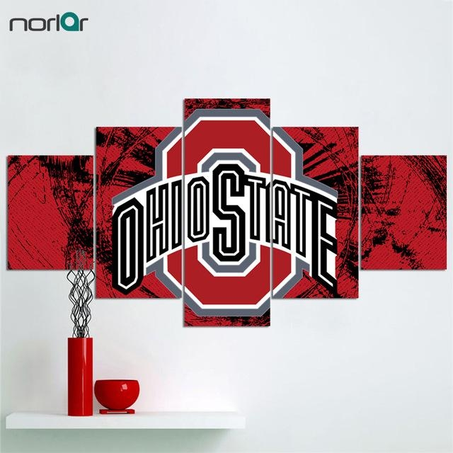 Limited Edition Contemporary Giclee Print The Ohio State In Limited Edition Canvas Wall Art (View 17 of 20)
