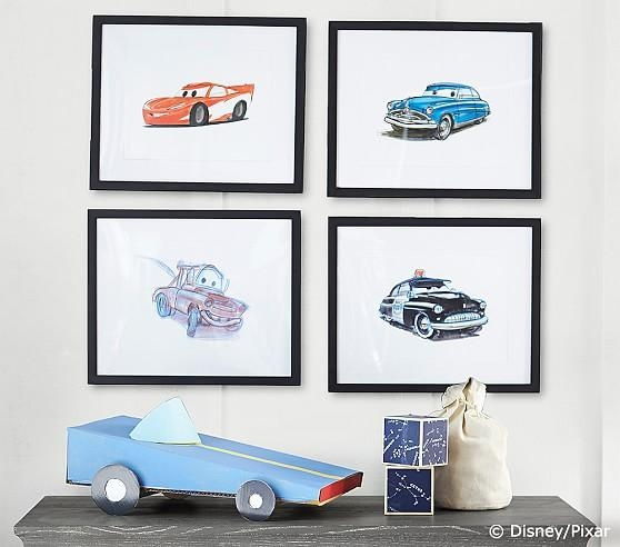 Limited Edition Disney•pixar Cars Art | Pottery Barn Kids With Limited Edition Wall Art (View 17 of 20)