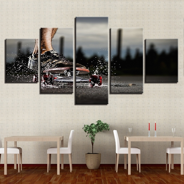 Limited Edition Skateboard Canvas Wall Art For Limited Edition Canvas Wall Art (View 13 of 20)