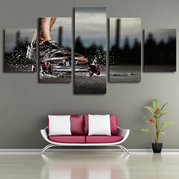 Limited Edition Skateboard Canvas Wall Art With Limited Edition Canvas Wall Art (View 10 of 20)