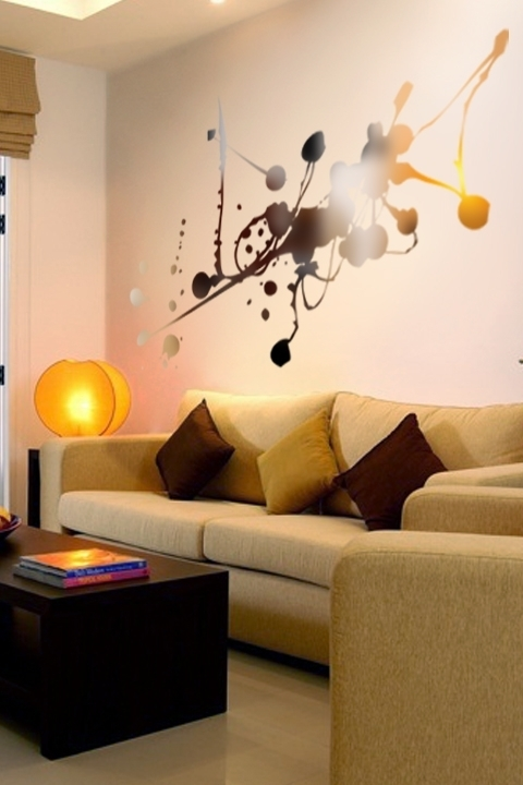Featured Image of Abstract Art Wall Decal
