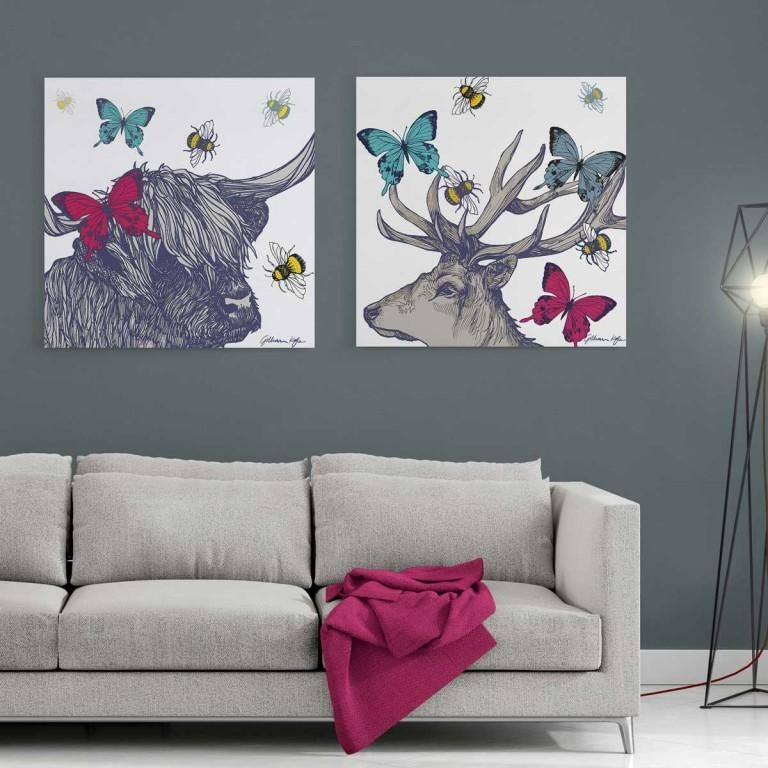 Living Room : Amazing Large Wall Art Canvas Wall Art Canvas With Brisbane Abstract Wall Art (View 11 of 20)