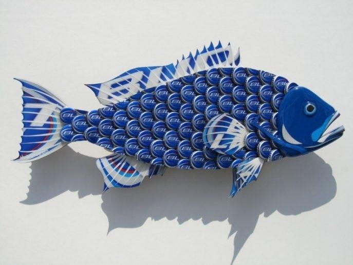 Living Room : Fabulous Copper Metal Fish Wall Art Metal Fish Wall Within Abstract Metal Fish Wall Art (View 3 of 15)