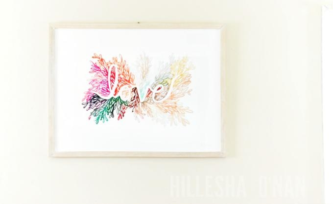 Love Is In The Air At Minted: Love Wall Art Printkelly Ventura Pertaining To Limited Edition Wall Art (View 16 of 20)