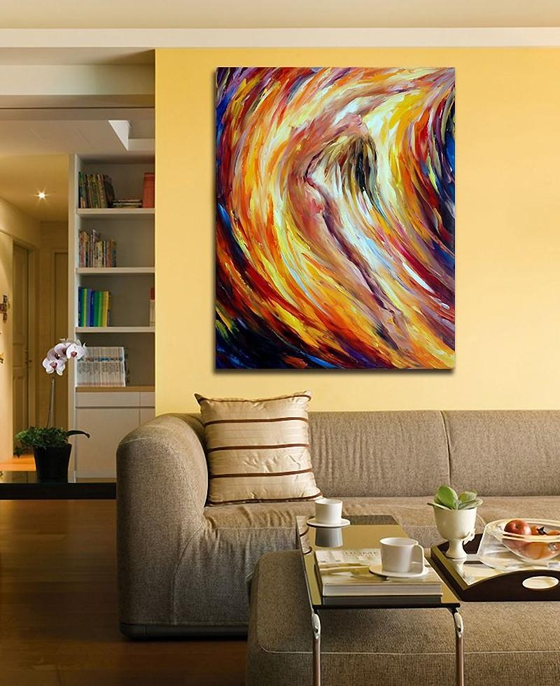 Modern 100% Hand Painted Canvas Oil Paintings Nude Woman Abstract Intended For Abstract Body Wall Art (View 18 of 20)