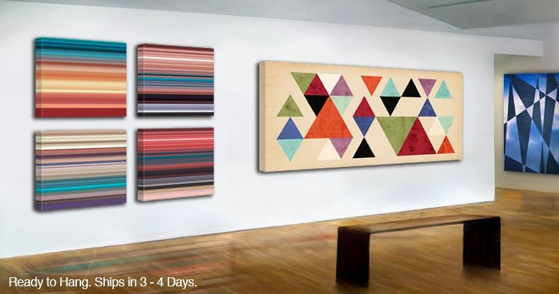 Modern Art On Canvas : Modern Canvas Art Prints, Abstract Canvas Inside Abstract Wall Art Prints (Image 14 of 20)