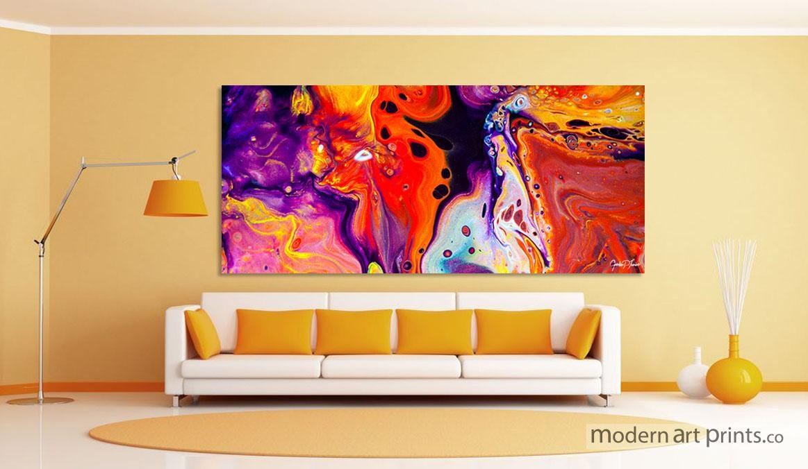 Modern Art Prints – Framed Wall Art | Large Canvas Prints Within Abstract Wall Art For Bathroom (View 5 of 20)