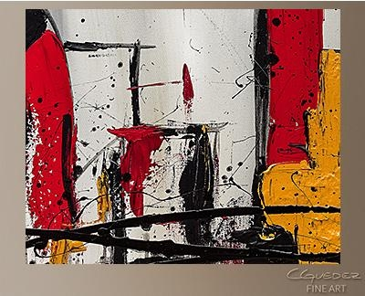 Modern City Abstract Art|Abstract Wall Art Paintings For Sale Within Contemporary Abstract Wall Art (View 18 of 20)