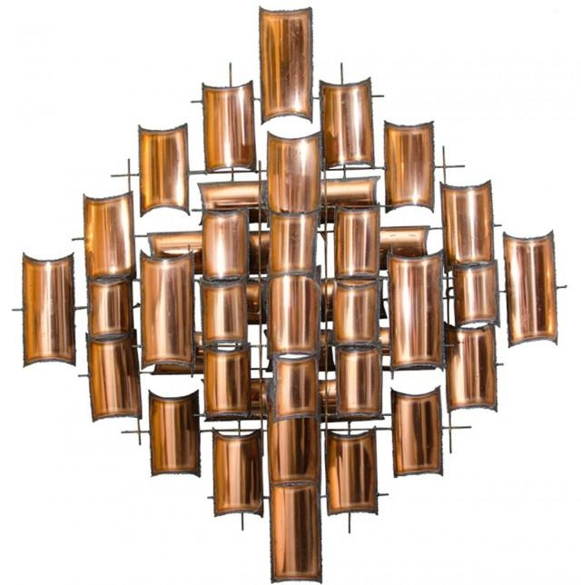 Modern Copper Wall Art | Home Design Ideas In Abstract Copper Wall Art (View 11 of 20)
