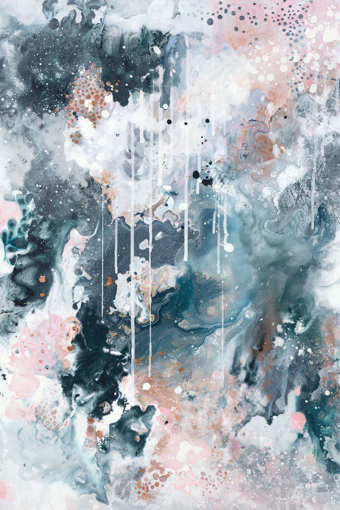 "Nordic Sky – Storm I"" Abstract Wall Art Print | Australian Artists Within Australian Abstract Wall Art (Image 15 of 20)"