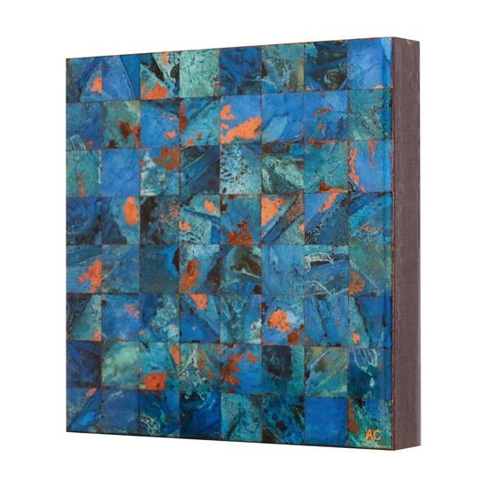 Online Art Gallery Of Contemporary Copper Art For Salecanadian Intended For Abstract Copper Wall Art (Image 11 of 20)