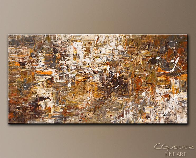 Original Oversized Art Paintings For Sale Above And Beyond – Large With Brown Abstract Wall Art (Image 14 of 20)