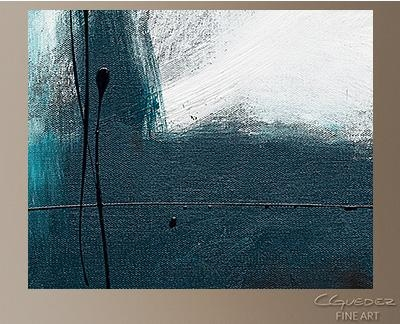 Oversized Abstract Wall Art – Blue Harbour – Huge Large Original For Blue Green Abstract Wall Art (View 18 of 20)