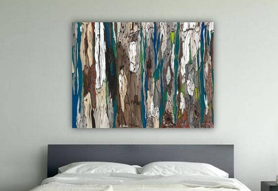 Oversized Masculine Extra Large Wall Art Canvas Bedroom Pertaining To Extra Large Abstract Wall Art (View 6 of 15)