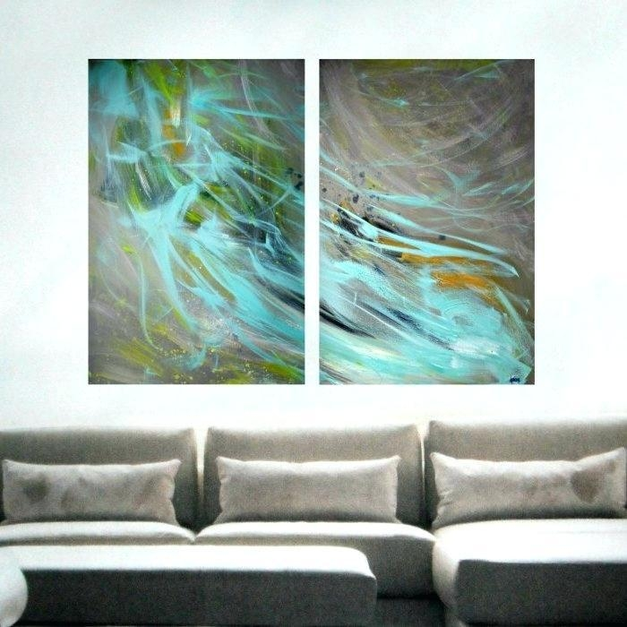 Oversized Wall Art Canvas – Boyintransit Pertaining To Australian Abstract Wall Art (View 11 of 20)