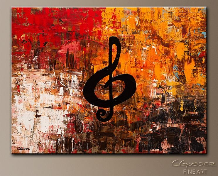 Prepossessing 80+ Jazz Wall Art Decorating Design Of Awesome Jazz Intended For Abstract Musical Notes Piano Jazz Wall Artwork (View 11 of 20)